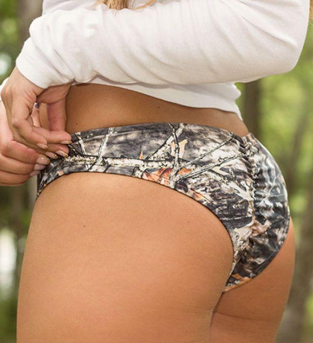 CamoGirl Camo Scrunch Bikini Bottom