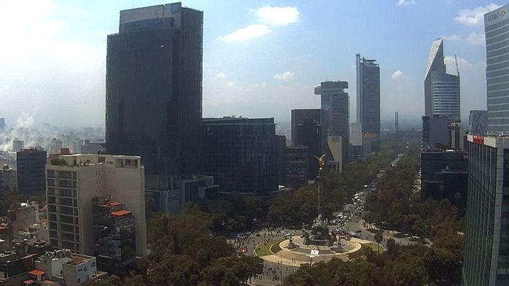Horrific videos capture terror of Mexico's latest earthquake - YouTube