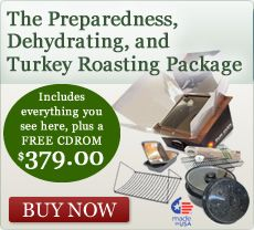 Speical Savings - get $80 off our new Turkey Package and $40 off a new Sun Oven - check it out!