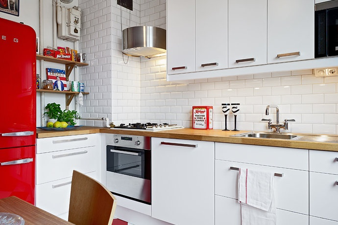 51 best images about kitchen on Pinterest  Work tops, Cabinets and Modern fa