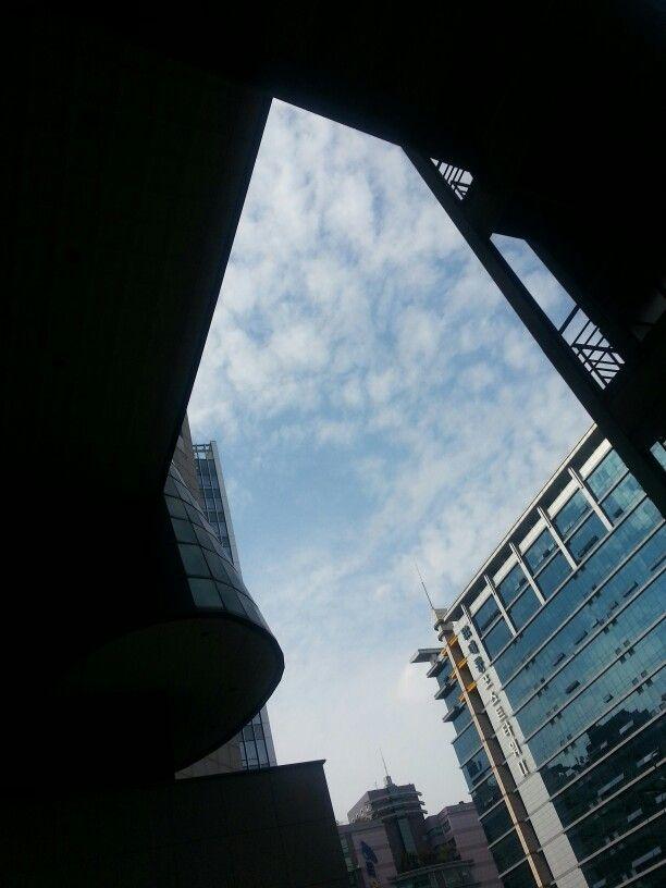 상암동 하늘