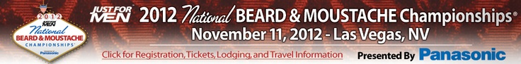 Oh yes, the world beard and mustache championships. The most creative, hairy and groomed mustaches and beards from around the world will convene in Las Vegas in just 2 weeks. Author Allan Peterkin will be at the championships this year.