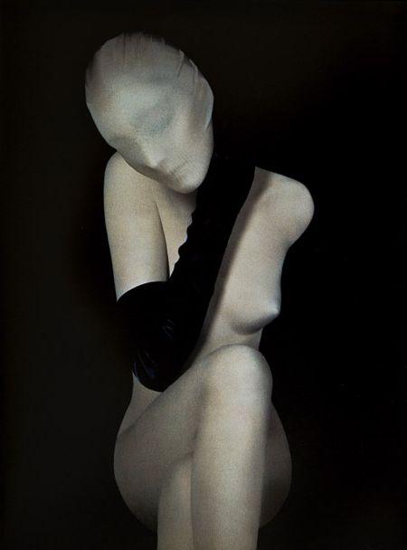 Photograph forSerge Lutensadvertisement.   FromL'esprit de Serge Lutens: The Spirit of Beauty. S)