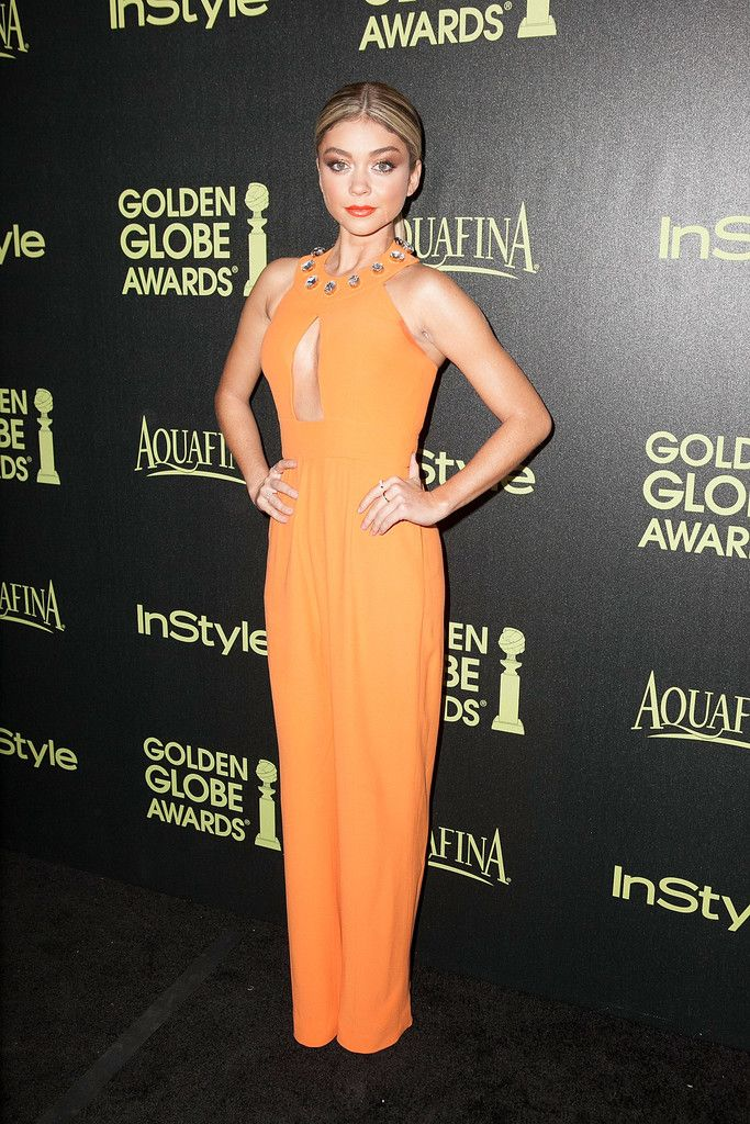Trend to Try: Melon-Colored Clothing // Sarah Hyland