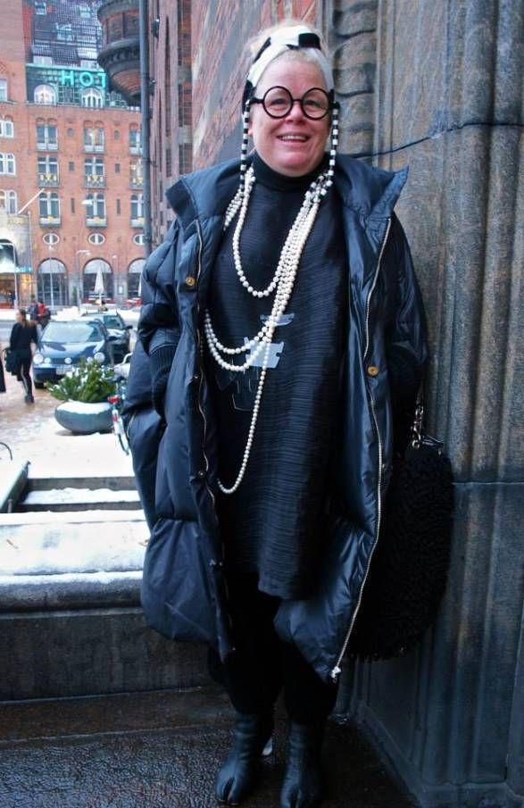 Tenka Gammelgaard - Copenhagen fashion week street style AW14 by Hybridablog
