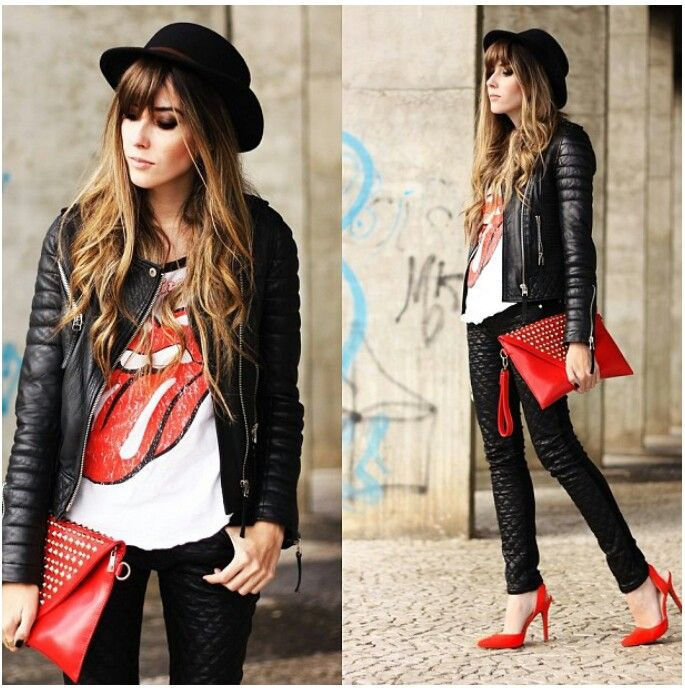 Look rockero Este si que es estilo !