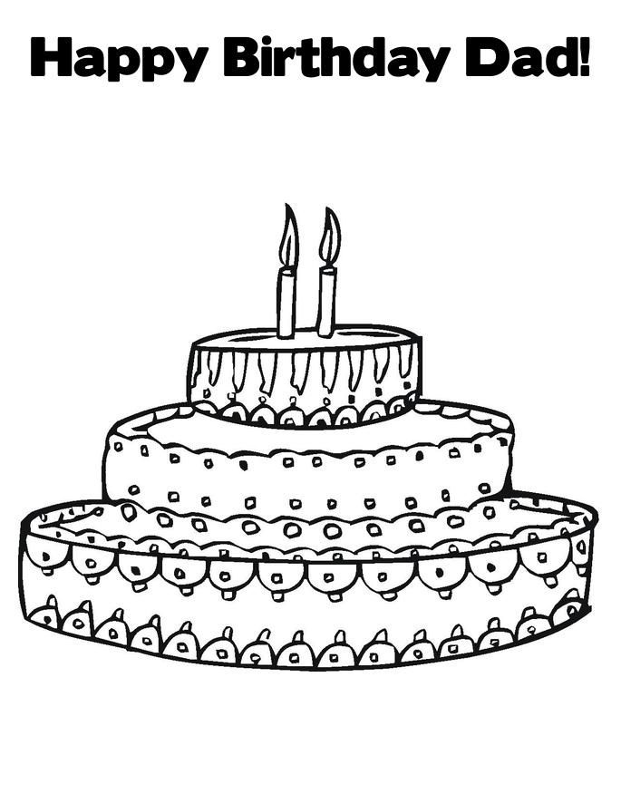 best  happy birthday coloring pages images on pinterest