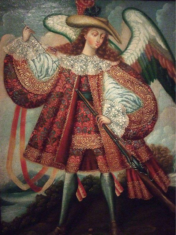 CUZCO ANGELS | Anonymous, Cuzco School, Peru, 18th century ...