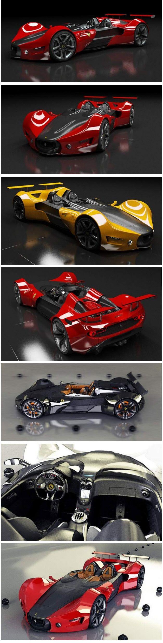 Ferrari Celeritas concept