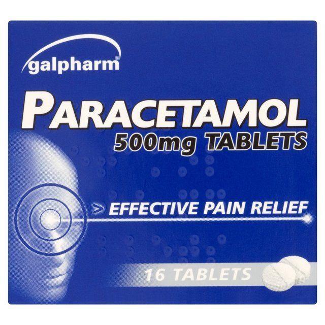 PARACETAMOL 500MG TABLETS 5 X16 -PAIN RELIEF-MIGRAINE-BACK ACHE MUSCULAR PAIN  #GalphramInternationalLimited
