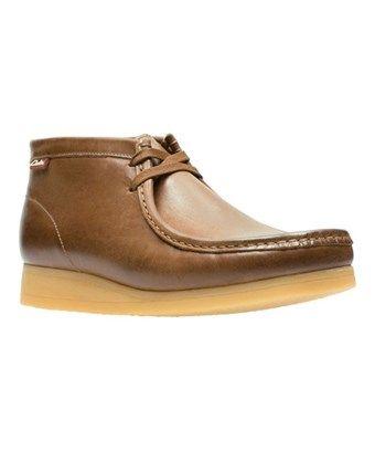 d07ebc56da3 CLARKS CLARKS MEN S STINSON HI MOC TOE BOOT DARK TAN LEATHER SIZE 8 M.   clarks  shoes