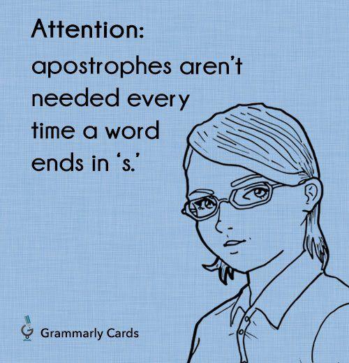Attention #writinghumor #grammarhumor http://writersrelief.com/