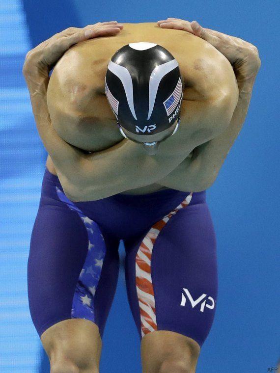 La foto de Michael Phelps que te dejará con la boca abierta