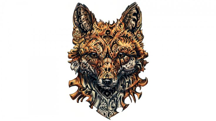 Nice Wild Fox Artwork