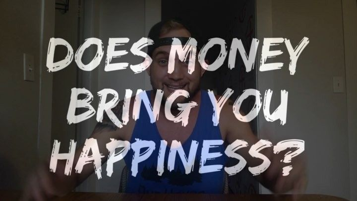 do fame and money bring happiness Money does bring happiness the books vol 1: savings.