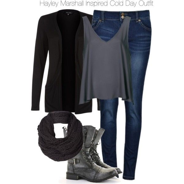 The Originals - Hayley Marshall Inspired Cold Day Outfit by staystronng on Polyvore featuring мода and Topshop