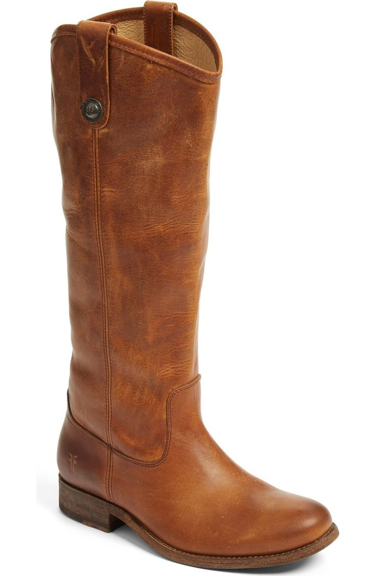 A fall wardrobe would not be complete without a cute pair of brown boots like this pair of Frye riding boots available at the Anniversary Sale.