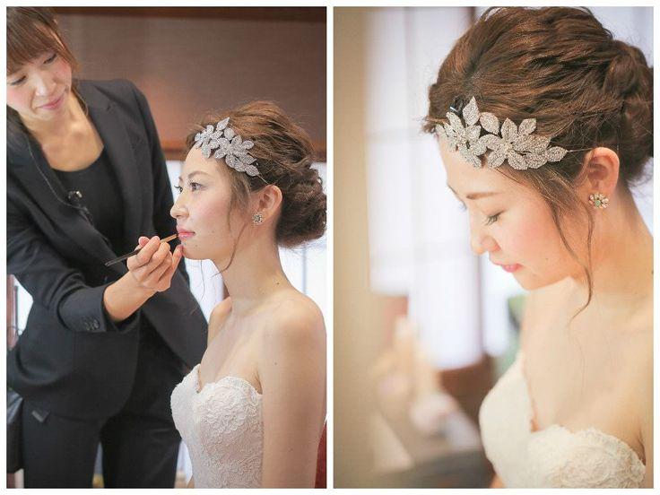 Photography: Bump Design #ヘッドピース #ヘアスタイル #ウエディング #結婚式 #ウエディングドレス
