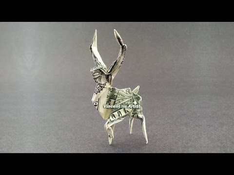 easy origami deer instructions