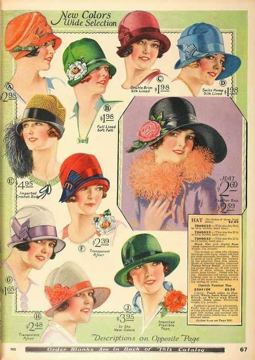 Chapéus anos 20