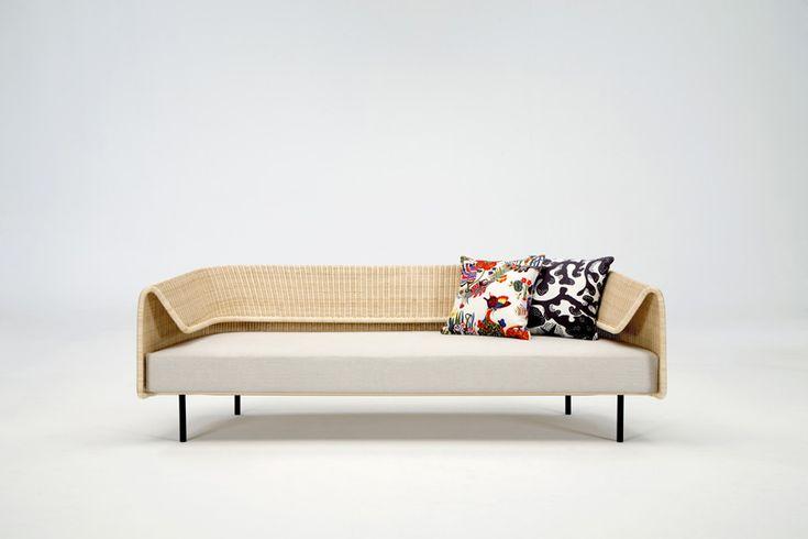 hiroomi tahara's wrap sofa for yamakawa rattan