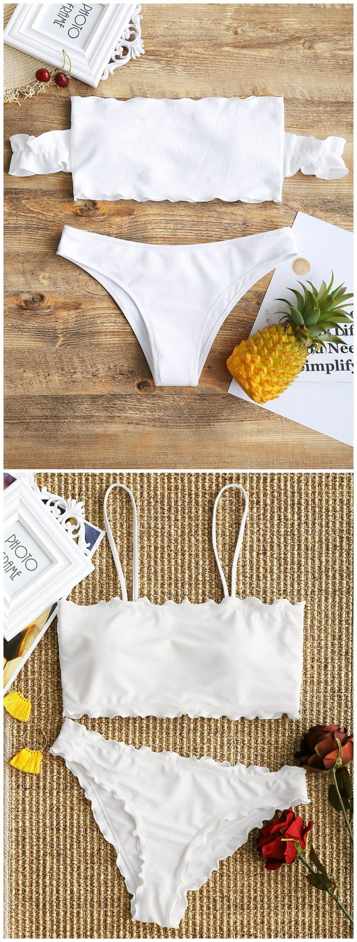 Up to 80% OFF! Lettuce Trim Cami Bikini Set. #Zaful #Swimwear #Bikinis zaful,zaful outfits,zaful dresses,spring outfits,summer dresses,Valentine's Day,valentines day ideas,cute,casual,fashion,style,bathing suit,swimsuits,one pieces,swimwear,bikini set,bikini,one piece swimwear,beach outfit,swimwear cover ups,high waisted swimsuit,tankini,high cut one piece swimsuit,high waisted swimsuit,swimwear modest,swimsuit modest,cover ups,swimsuit cover up @zaful Extra 10% OFF Code:ZF2017