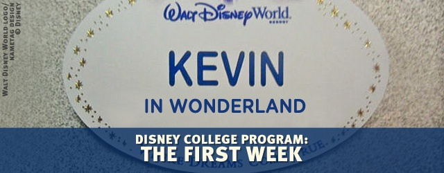 Disney College Program: The First Week