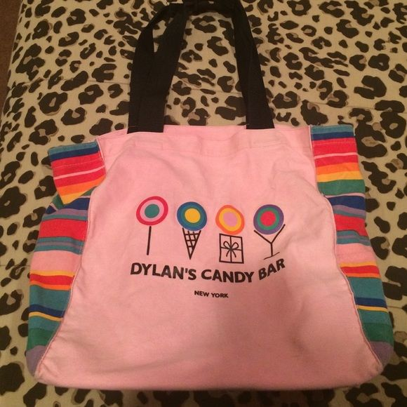 Dylans Candy Bar Handbags - Large pink tote bag from Dylan's Candy Bar
