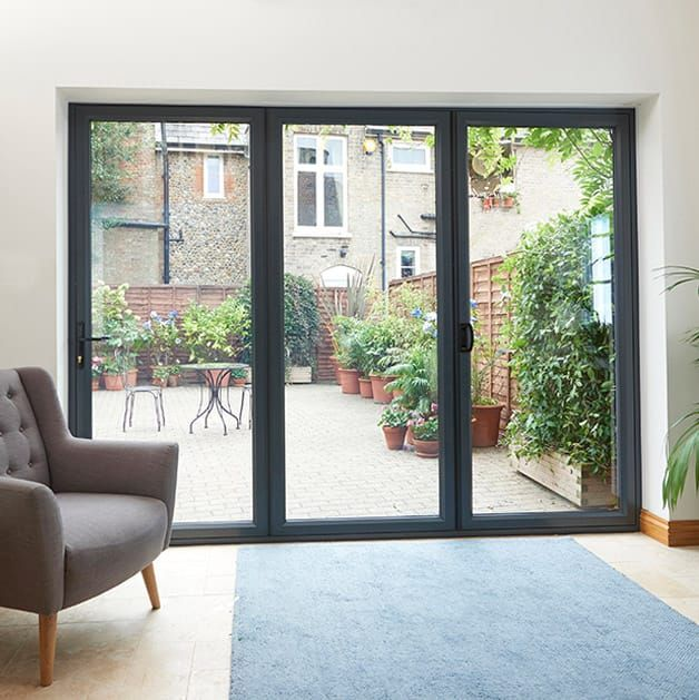 Bi fold Doors   Browse our Aluminium Bi folding Doors   Everest