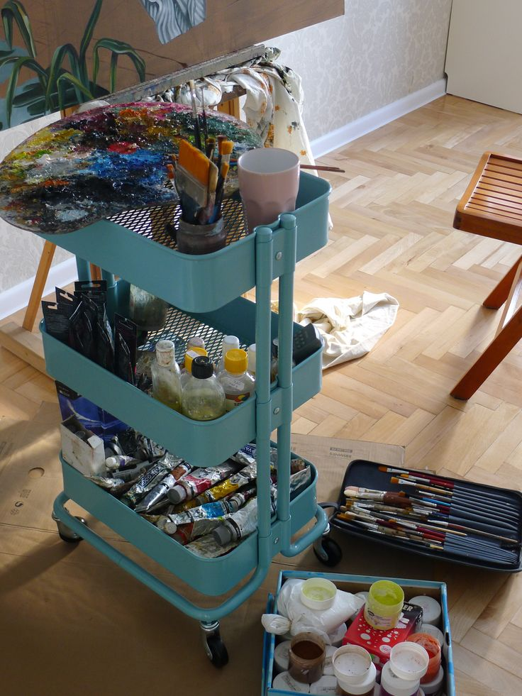 Artist's equipment