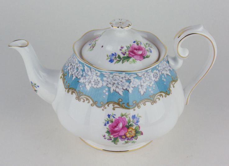 Large Teapot Royal Albert Enchantment   eBay