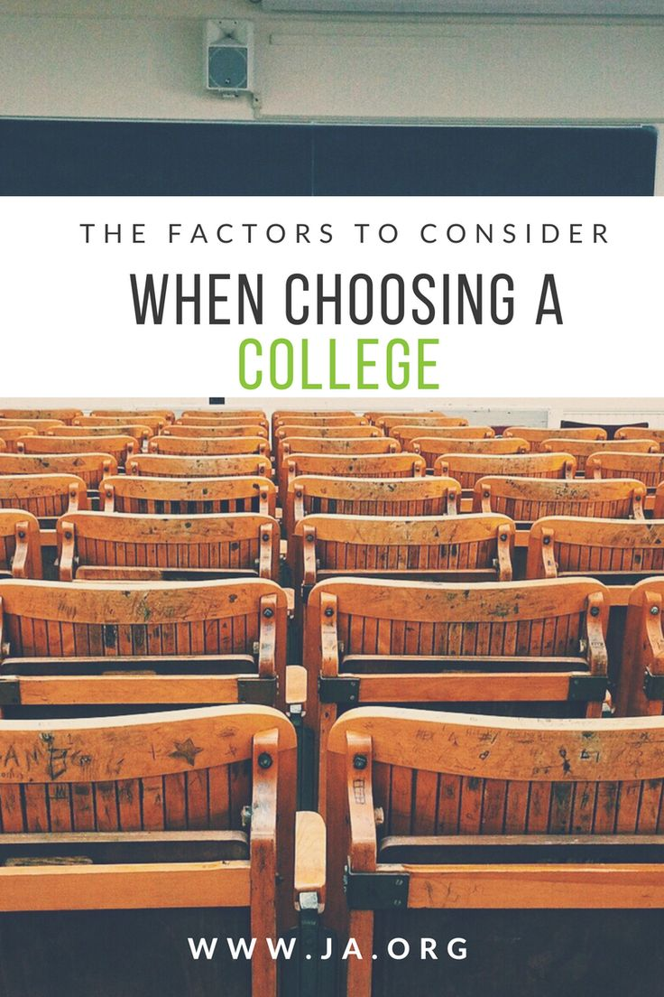 Need some help finding the best #college for you? Click to learn what factors you should be looking for in a #university! www.ja.org