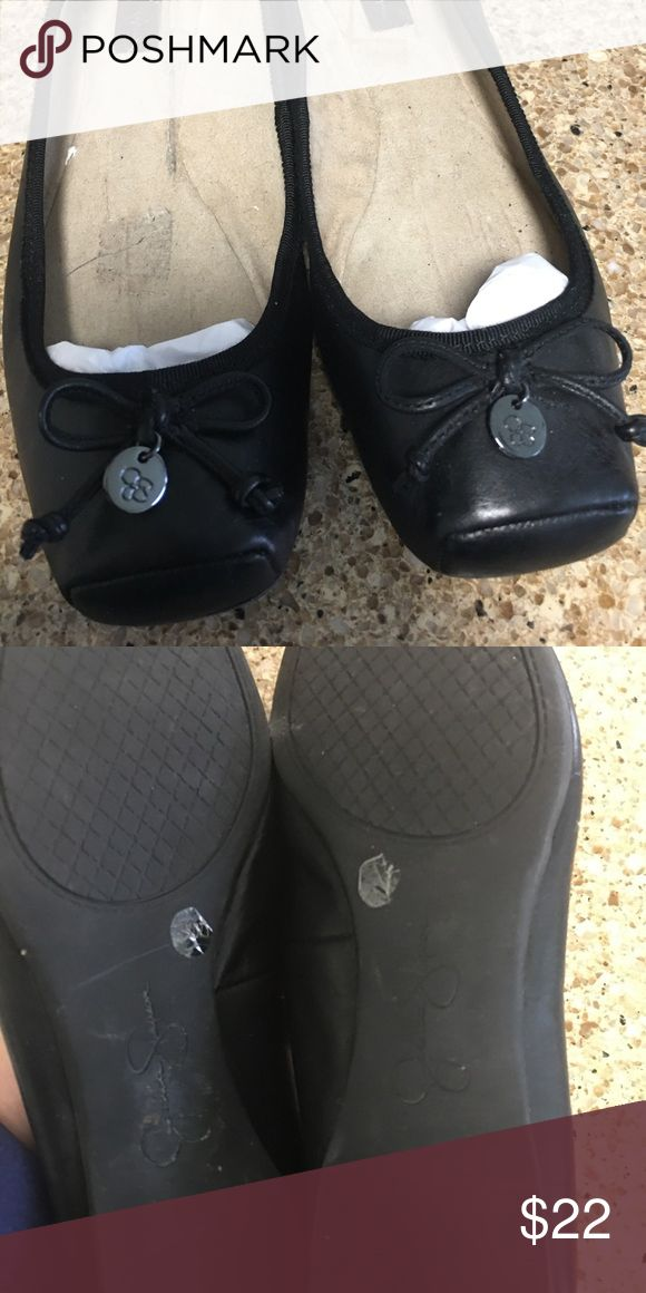 Jessica Simpson Ballet Flats Worn with inserts I removed which you can see from photo. Still great condition worn twice. Jessica Simpson Shoes Flats & Loafers