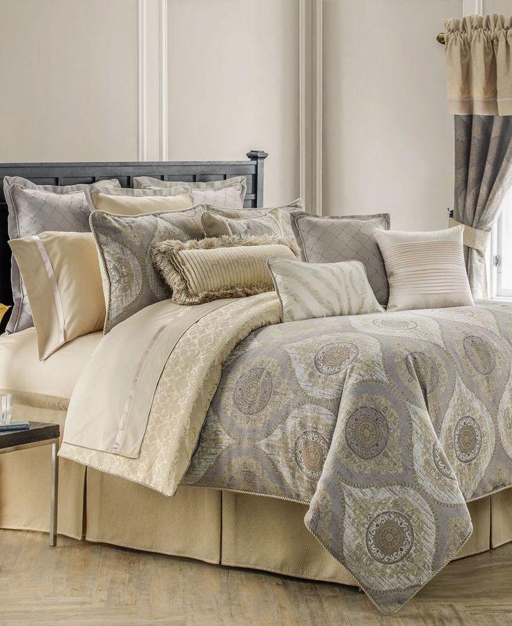 waterford marcello california king duvet cover set bed skirtsqueen comforter setsgold comforter