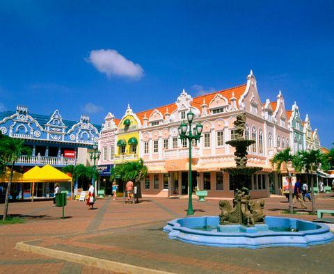 Arquitectura holandesa, Oranjestad, Aruba, Antillas holandesas