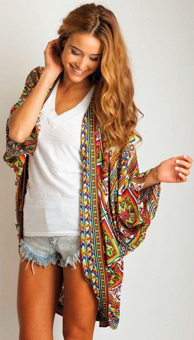 Kimono de verão