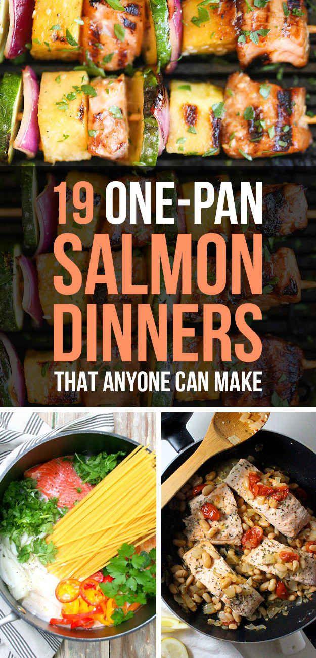 19 veloce e salutare Cene del salmone che chiunque può fare
