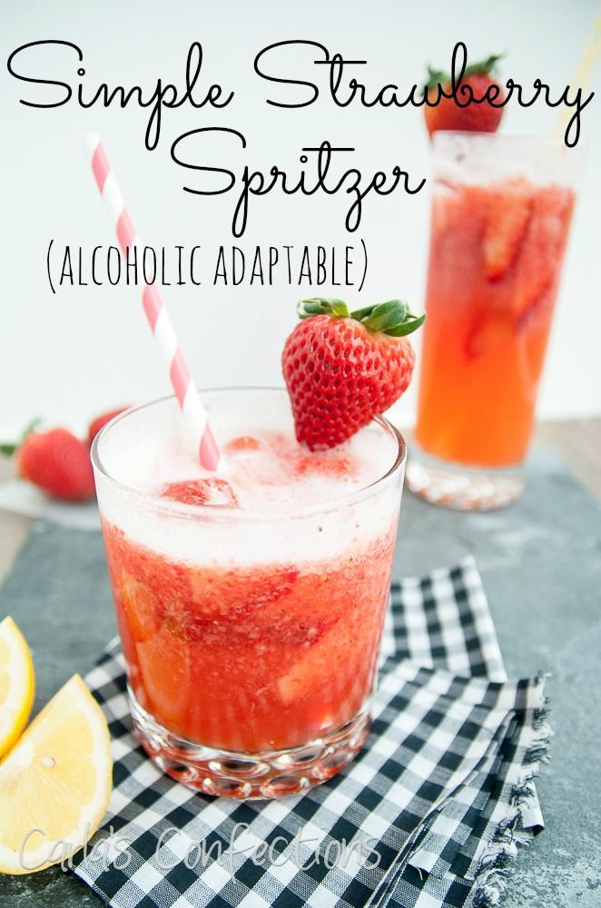 Carla's Confections: Simple Strawberry Spritzer  I would like to try Fresca~calorie free~kids will love it! http://www.carlasconfections.com/