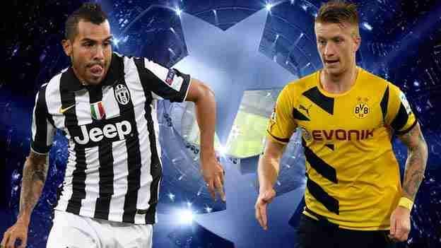 Juventus vs Borussia Dortmund streaming live e formazioni