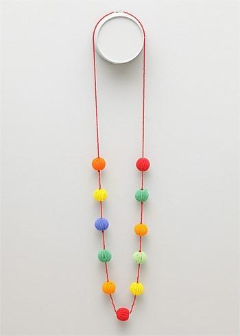 #TS14+ Pom Pom Necklace #plussize #curvy