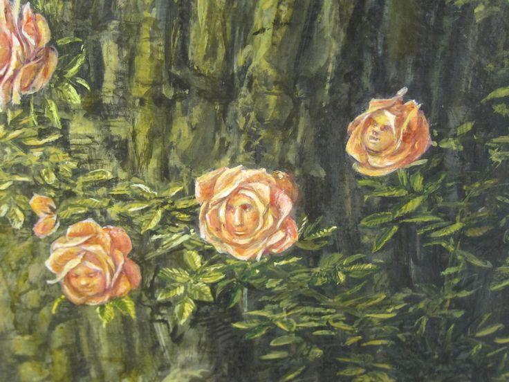 Varde Museum. Otto Frello. Det gamle Træ (sød detalje). 1990. 070814 BØ OL SBL