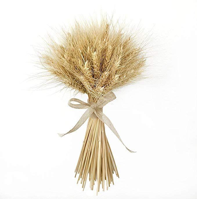 Dried Bouquet Rustic Home Decor Dried Wheat Sheaf Free Standing Sheaf