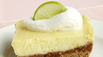 This recipe is based on the famous Key lime pie from Joe's Stone Crab restaurant in Miami Beach. If you can't find Key limes, use regular fresh lime juice.