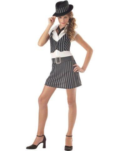 mobsta girl tween costume letter g