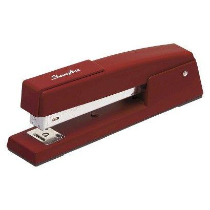 Swingline Classic Stapler 20 Sheet Capacity   Burgundy, Lipstick. Red  Swingline StaplerDesk SuppliesOffice ...