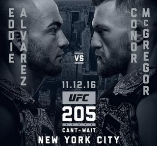 UFC Live Stream - Eddie Alvarez Vs Conor McGregor (November 12, 2016 - 10 PM ET),  Madison Square Garden New York City, New York, US.