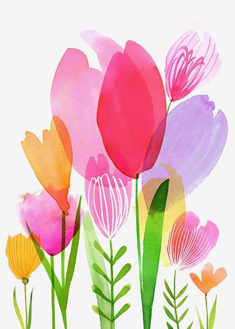 Magrikie : Illustration  : easter / spring
