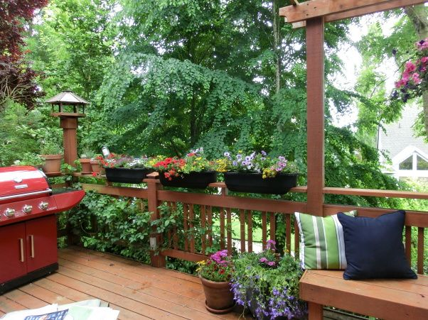 Decorate Porches And Covered Deck Furniture Terrace