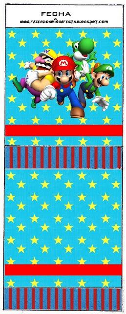 Imprimibles de Super Mario Bros 3.|OH MY FIESTA!