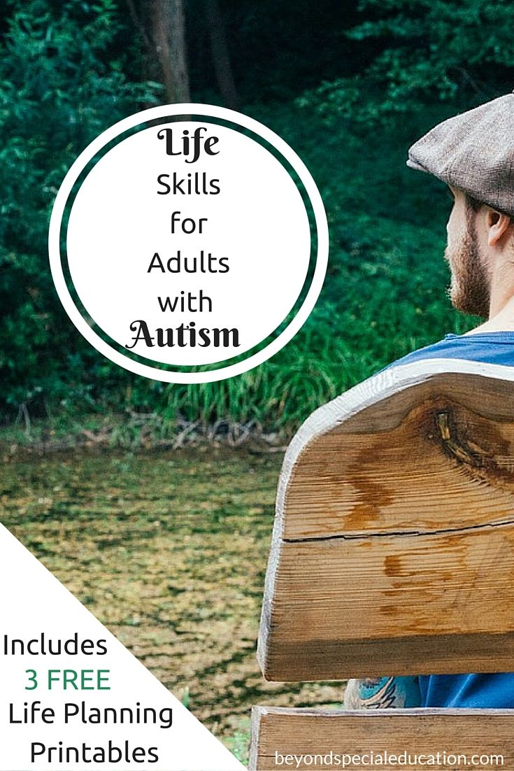 Life skills for adults with autism are very important as they transition to adulthood. Actively participate in transition planning to ensure your young adult's future. Click to read more or pin for later!